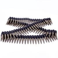 Pirackie rekwizyty plastikowe kule Model pirackie kule strzelaj na zhan jun policyjne karabiny maszynowe Bullet Chain Wholesale w Torby i sakwy rowerowe od Sport i rozrywka na
