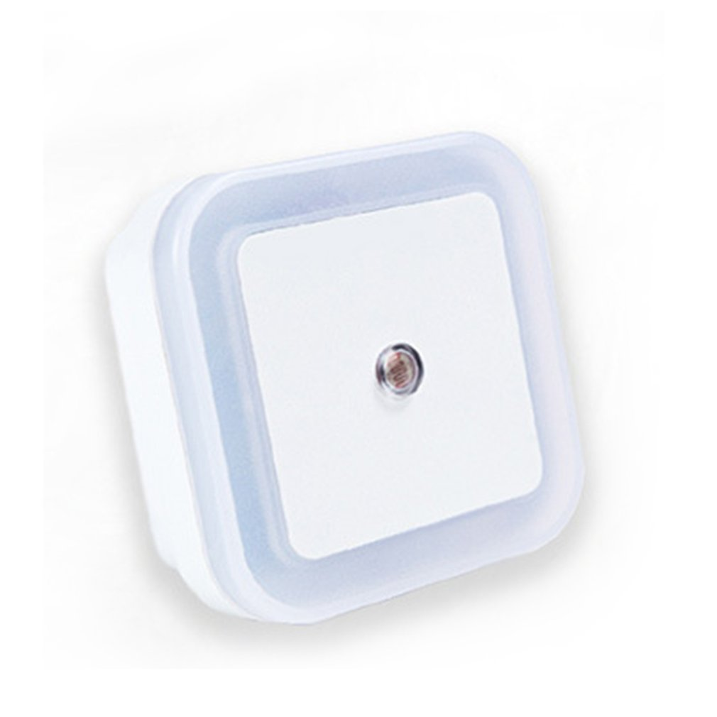 LED Night Light Mini Light Sensor Control 110V 220V EU US Plug Energy Saving Induction Lamp For Living Room Bedroom Lighting