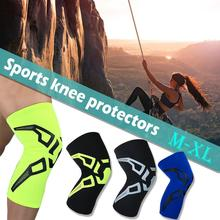 1 PCs Fitness Knee Brace Compression Support Sleeve Basketball Mountaineering Cycling Running Sports Patella Protector