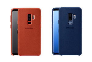 Image 4 - オリジナルサムスンアルカンタラファッション電話ケースカバーfundas coque 4サムスンギャラクシーS9 G9600 S9 + S9プラスg9650