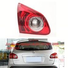 цена на MIZIAUTO 1PCS Rear tail ligjt Inner side For Nissan Qashqai Dualis J10 2007 2008 2009 2010 Brake Light Rear Bumper Light Fog