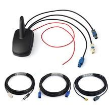 Superbat DAB/FM Auto Digitale Radio Amplified Antenna con il GPS del Supporto del Tetto Antenna e Cavo di SMA Antenna di Ricambio per auto DAB