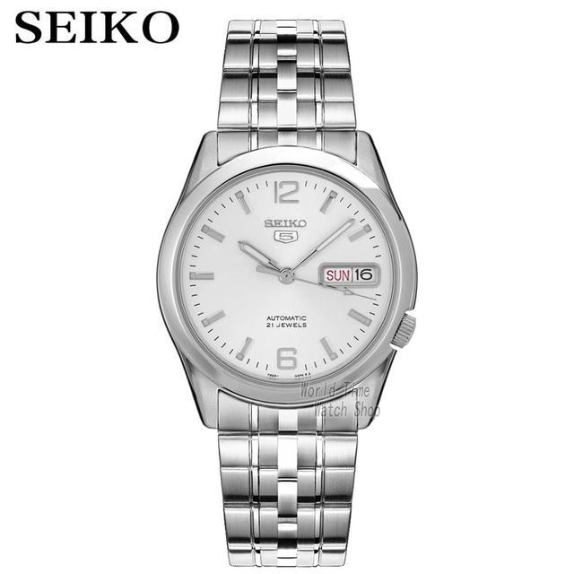 セイコー腕時計メンズ 5 自動時計を高級ブランド防水スポーツメンズ腕時計セットメンズ腕時計防水時計レロジオmasculino
