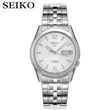 Seiko שעון גברים 5 אוטומטי שעון כדי יוקרה מותג עמיד למים ספורט גברים שעון סט mens שעונים עמיד למים שעון relogio masculino