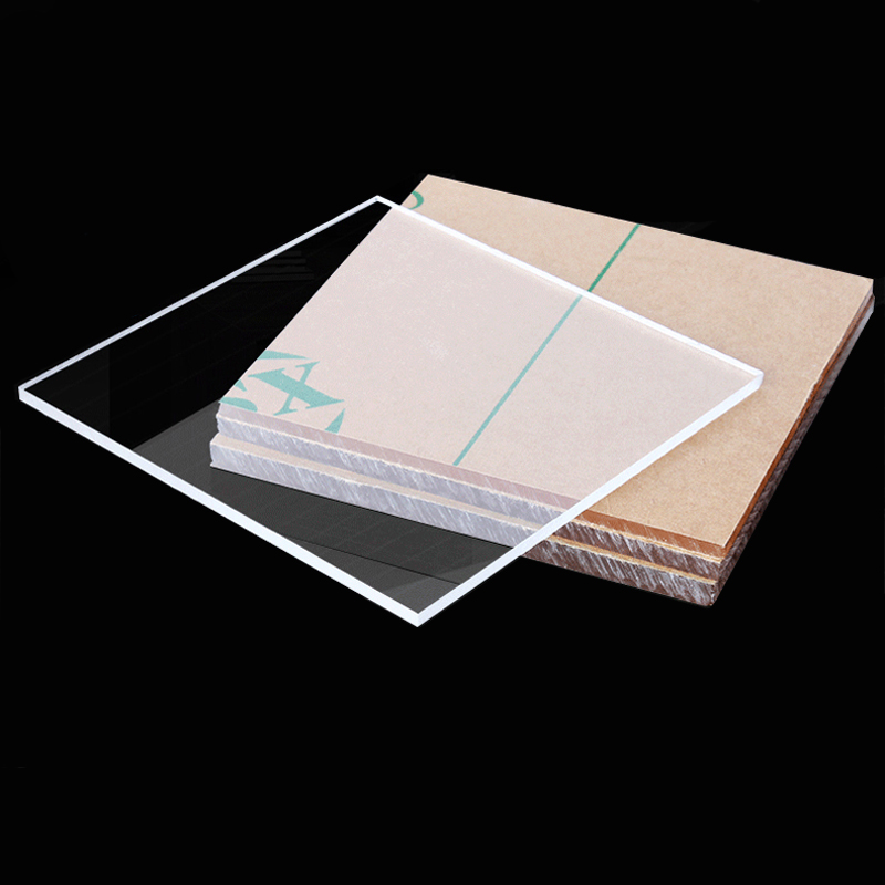 Clear Acrylic Board Plastic Sheet Laser Processing Perspex Plate PMMA High Transparent Diy Handmade Material 210X297X3mm