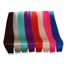 """[Sale] Ugeat Tape in Hair Extensions Real Human Hair 12 22"""" Non Remy Hair Skin Weft Seamless Hair 10Pcs/20Pcs/40Pcs 1.5G/Pcs"""