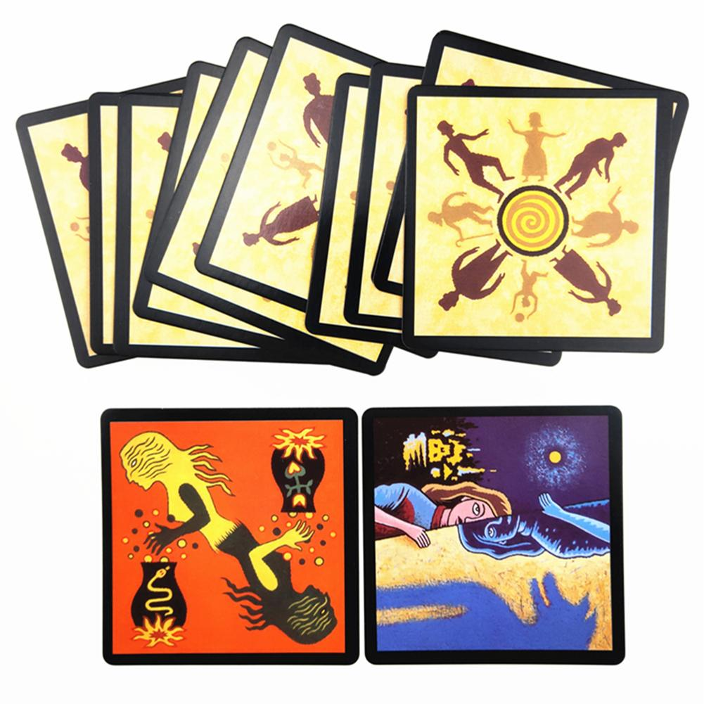 Board Games Werewolf Game Cards Tarot Card With English Rules For Family Party Fun Card Game Playing Card Board Deck Games