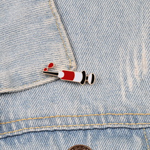 Medicine Label Pins Doctor Nurse Injection Syringe Pin Brooches Enamel Denim Jackets Collar Suits Badges Men Women Jewelry Gifts