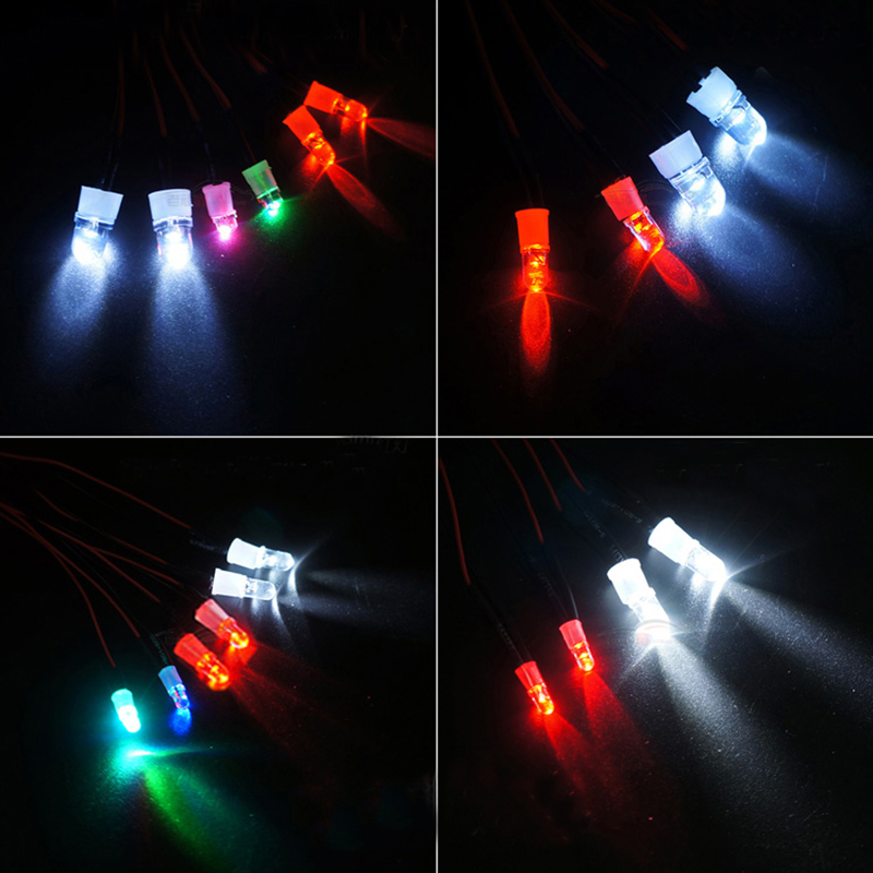 LED Night Bright Side Mirror Signal Indicator For HSP 1//10 RC On Road Racing Car