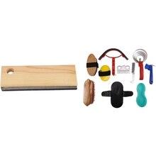 Scraper Groomer-Brush Pet-Hair-Removal-Tool Horse-Grooming-Tool-Set Cleaning-Kit Horses