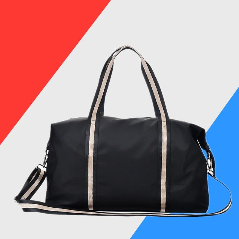 2020 Hot Canvas Women's Travel Bags Yoga Gym Bag For Fitness Shoes Handbags Shoulder Crossbody Pouch Women Men Sac De Sport Pack