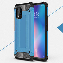Armor Case For Xiaomi Mi Note 10 Lite Hybird TPU+PC Cover For Mi CC9 Pro Note 10 Mi 10 youth 5G Global Coque Redmi Note 9s 9 pro(China)
