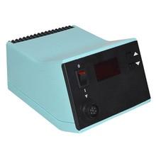 Soldador eléctrico de temperatura constante, máquina de control inteligente de alta potencia, WSD81