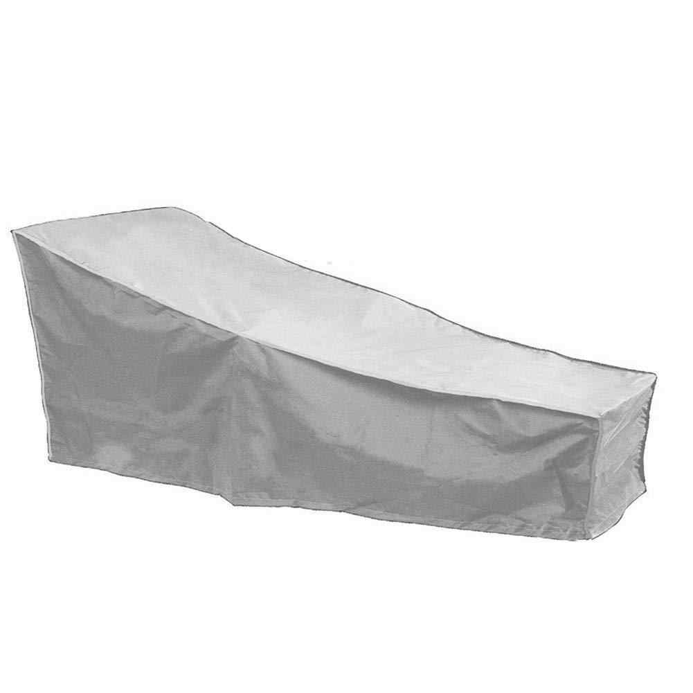 Patio Furniture Cover Outdoor Yard Garden Chair Sofa Waterproof Dust Cover Sun Protection Oxford Cloth Garden Recliner Cover