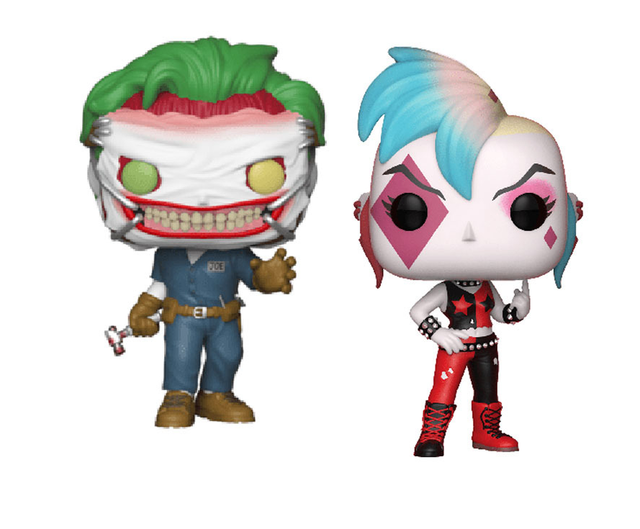 FUNKO POP Suicide Squad Punk Joker Harleen Collection Action Figure Toys Vinyl Car Decoration Model for Kids Birthday Gifts 4