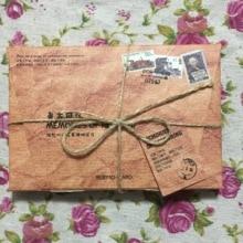 A165-винтажная бумажная открытка times(1 упаковка = 30 штук