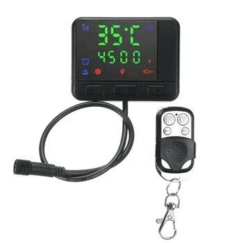 Auto LCD Monitor di Controllo Remoto Per Aria Diesel Riscaldatore di Parcheggio Accessori Nuovo Automobiles & Motorcycles & 20XX Store
