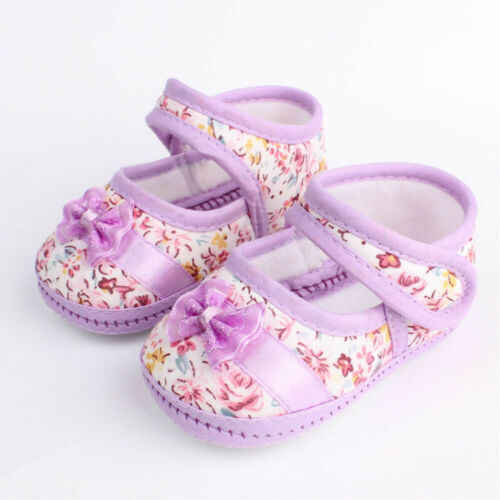 Infant Baby Mädchen Kleinkind Schuhe Bowknot Mokassins Weiche Sohle Prewalker Schuhe