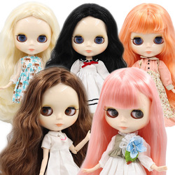 ICY DBS Blyth doll 1/6 BJD customized nude joint body with white skin, glossy face, girl gift, toy