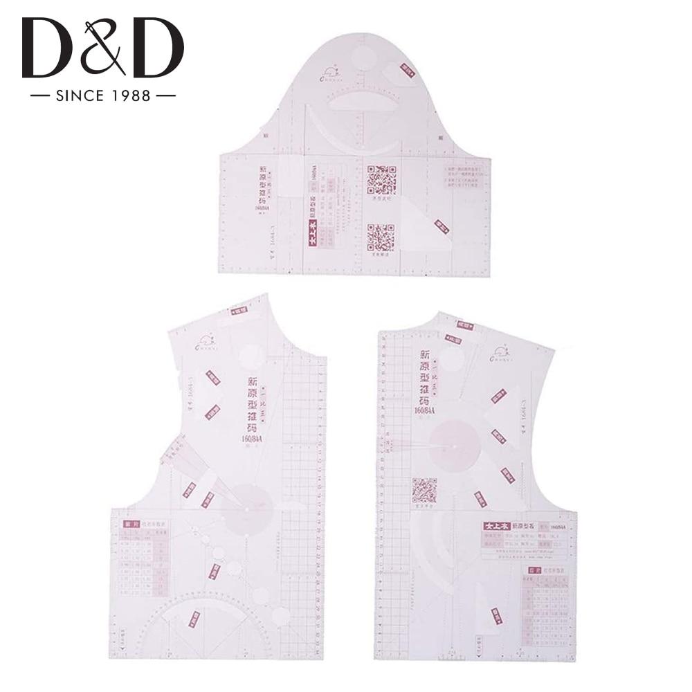1:5 миниатюрная линейка для дизайна одежды, шаблон для рисования одежды, линейка для одежды, измерительная линейка для изготовления узоров, и...