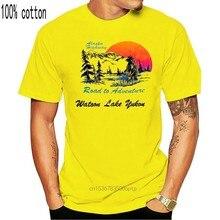 T-shirt VINTAGE 70 80, nouveau modèle, Alaska, autoroute, Watsoon, lac, YUKON, ours