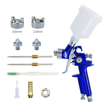 Cup Spray-Gun Painting HVLP Gravity-Airbrush Professional Mini Pneumatic for Car-Aerograph