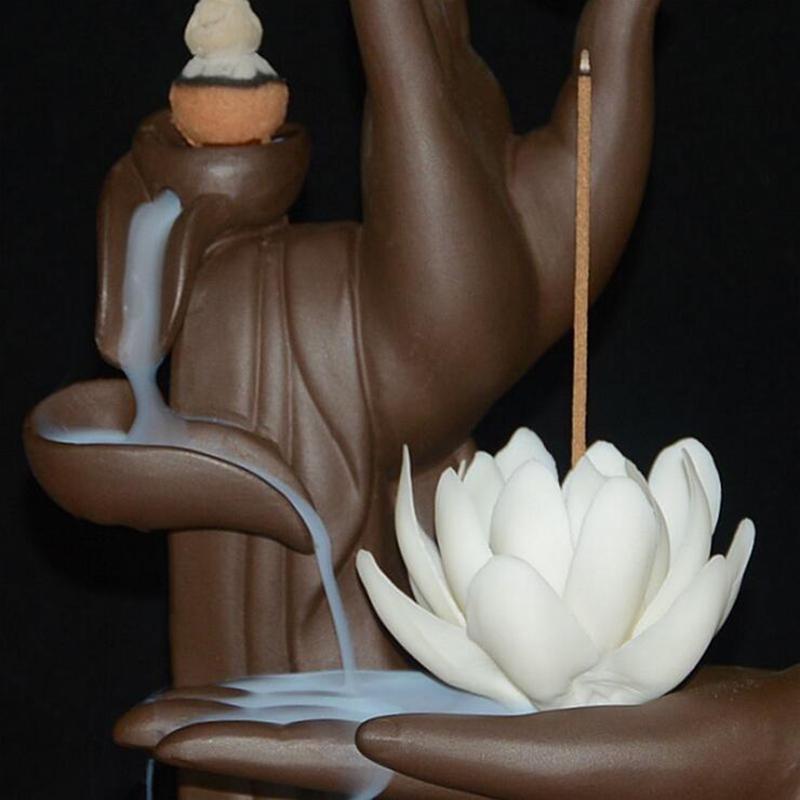 Cascada zen con flor de loto 3