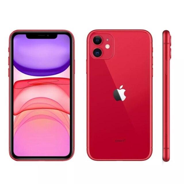 "iPhone 11 Apple (64GB) Preto Tela 6,1"" 4G Câmera 12MP iOS 5"
