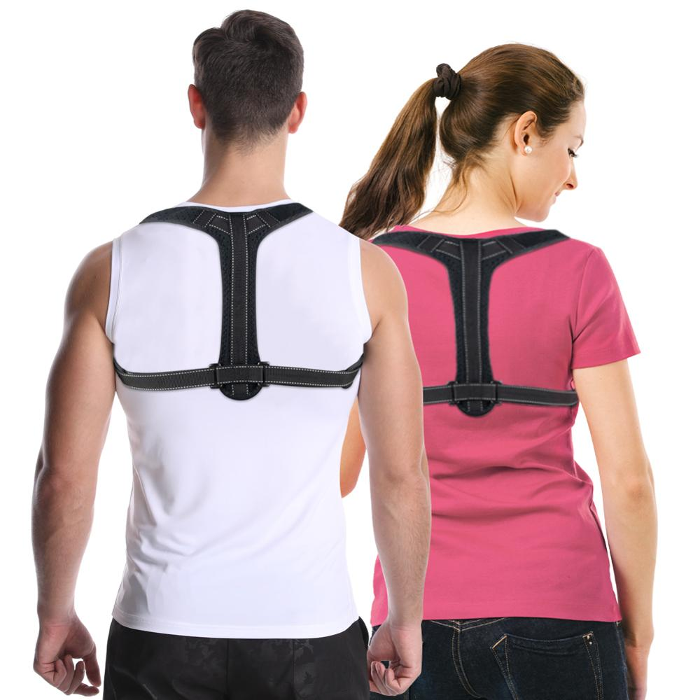 Adjustable Magnetic Posture Corrector Corset Back Brace Back Belt Lumbar Support Straight Corrector Can Be Customized With Logo