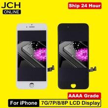 AAAA класс для iPhone 7 7Plus 8 8Plus lcd с 3D сила кодирующий преобразователь сенсорного экрана в сборе для iPhone 7 7Plus дисплей без битых пикселей
