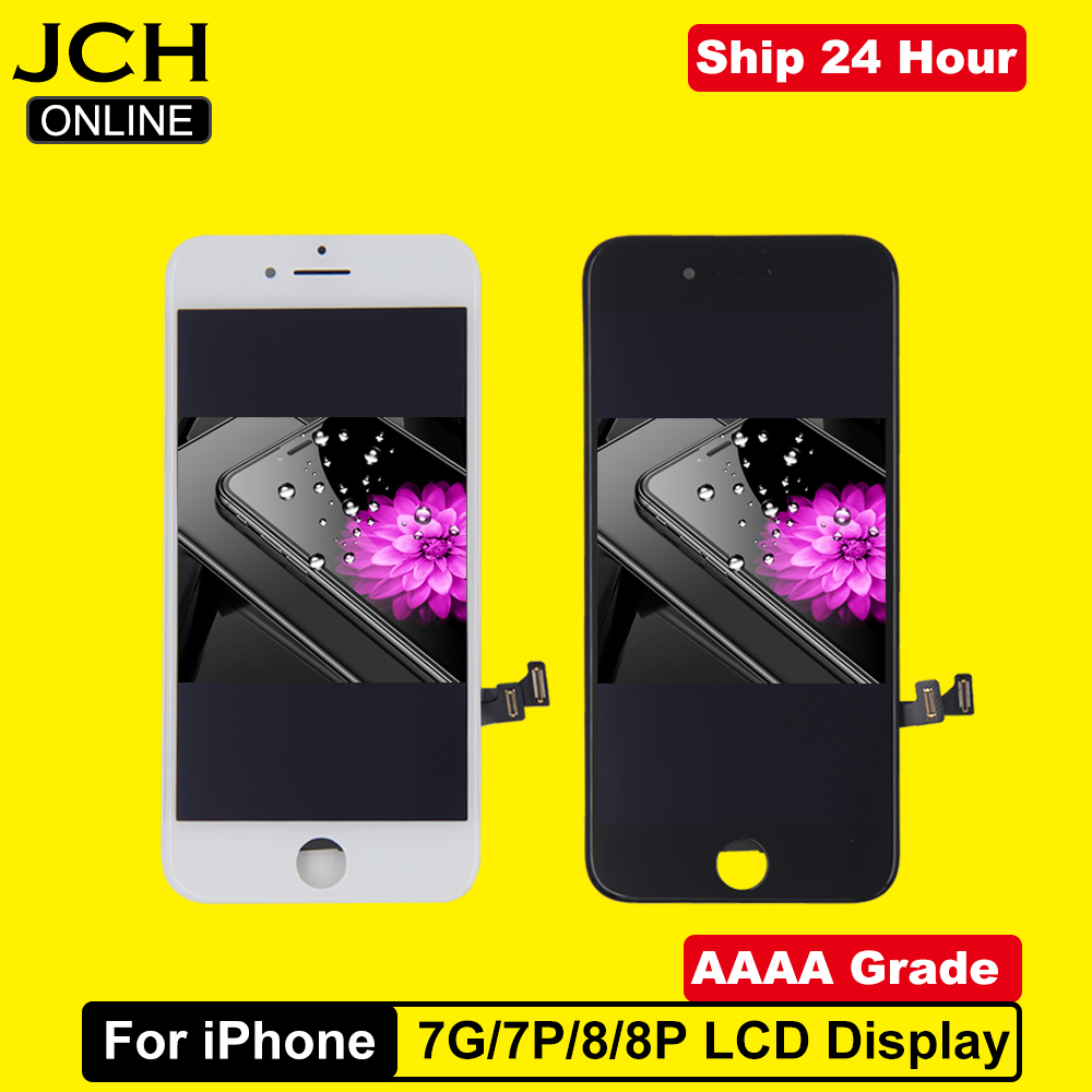 AAAA เกรดสำหรับ iPhone 7 7Plus 8 8 PLUS LCD 3D FORCE Touch Screen Digitizer ASSEMBLY สำหรับ iPhone 7 7Plus ไม่มี Dead Pixel title=