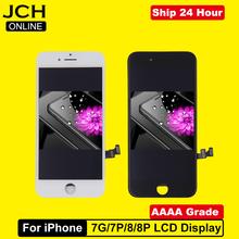 AAAA klasy dla iPhone 7 7Plus 8 8Plus LCD z 3D siły ekran dotykowy Digitizer zgromadzenie dla iPhone 7 7Plus wyświetlacz nie martwy piksel tanie tanio CN (pochodzenie) Pojemnościowy ekran 1920x1080 3 For iPhone 7 7p 8 8 plus LCD LCD i ekran dotykowy Digitizer Apple iphone
