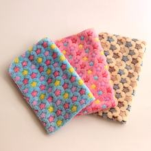 Супермягкий фланелевый утолщенный коврик для сна одеяло питомца
