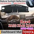 Für Toyota Rav4 XA30 XA40 XA50 2006 ~ 2022 RAV 4 30 40 50 Anti Slip Matte Dashboard Abdeckung pad Sonnenschirm Dashmat Auto Zubehör teppich-in Autoaufkleber aus Kraftfahrzeuge und Motorräder bei