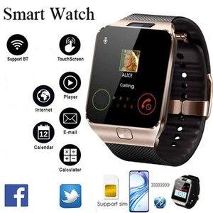 2020 Bluetooth DZ09 Smart Watch Relogio Android smartwatch phone fitness tracker reloj Smart Watches subwoofer women men