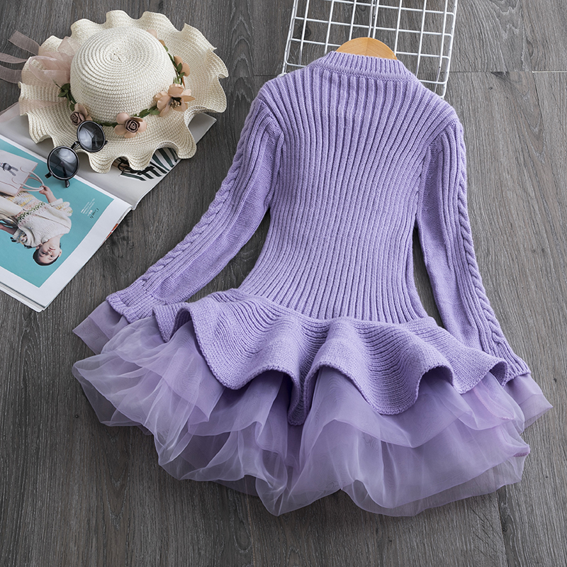 H1f013ee91b304c7ca49e2da564392779B Petals Designs Girl Dress Children Party Costume Kids Formal Events Vestidos Infant Tutu Flower Dress Fluffy Wedding Gown 3 5 7T