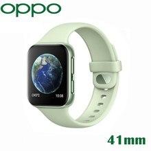 Nowy oryginalny oficjalny zegarek OPPO 41mm eSIM telefon komórkowy 1.6 cala AMOLED Snapdragon 2500 i Apollo 3 VOOC 300Mah Smartband 1G 8G GPS