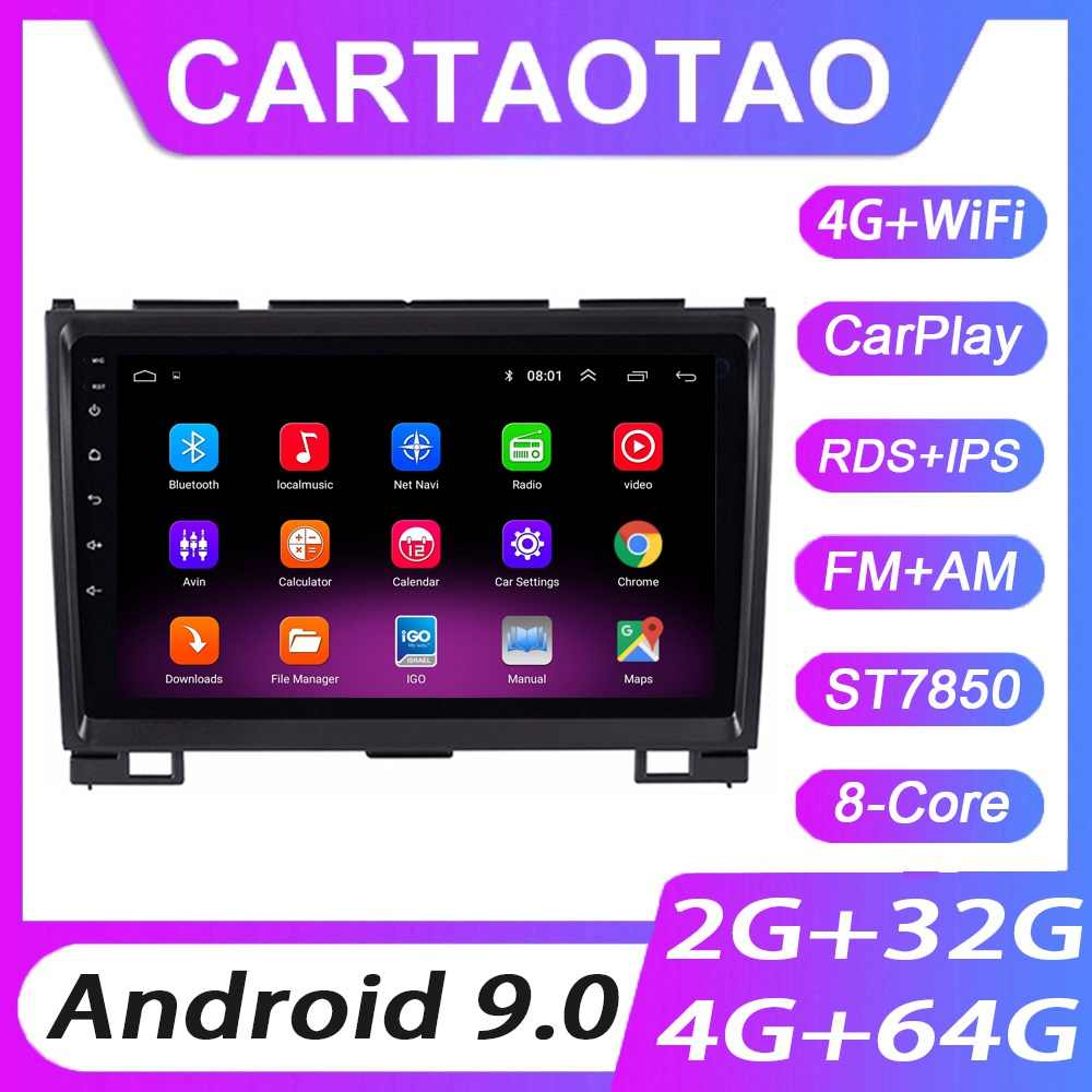 4G + 64G Android 9.0 Car Radio GPS Navigasi WIFI RDS IPS Multimedia Player untuk Great Wall Haval hover H5 H3 2011-2016 2din