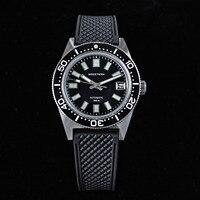 62MAS Diver Men Watch 38mm vetro zaffiro originale Nh35 orologi meccanici automatici data luminosa anello in ceramica 200M water Pro