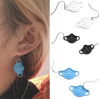 2020 moda śmieszne słodkie wiszące kolczyki koreański styl fajna designerska kolczyki kwiaty wiśni tanie i dobre opinie YITING Ze stopu cynku CN (pochodzenie) Śliczne Romantyczne earrings MASK Metal Kobiety
