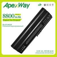 Apexway 8800mAh 11.1V battery for HP Pavilion DV2000 DV6000 for Presario V3000 v6000 EV089AA EX941AA HSTNN LB31 EV088AA EX940AA