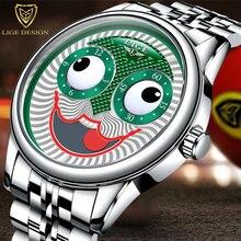 Новое поступление 2020 мужские часы Джокер lige топовый бренд