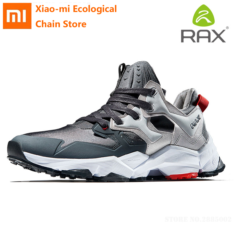 Xiaomi Rax man reflective cushioning running shoes 3D shock absorption EVA Non-slip Wear resistant Outdoor athletic sneakers