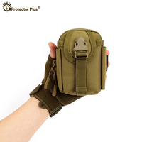Bolsa Molle de Nylon de camuflaje  paquete de teléfono móvil  paquete militar de escalada táctica  paquetes adherentes de ejército  bolsas de viaje para senderismo