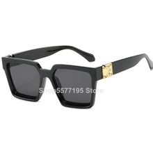 New Sunglasses Women Oversize Fashion Gradient Brand Designer Female Sun Glasses