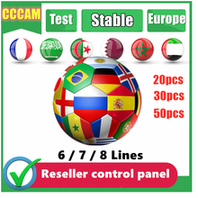 【C】【c】【c】【a】【m】 2021 a linha 3 mais estável para o receptor de tv por satélite 3/4/5clines wifi completo hd DVB-S2 apoio ccams