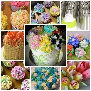 Image 5 - 106pcs/set Creative Cake Decorating Kit Pastry Tube Fondant Tool Kitchen Dessert Baking Pastry Supplies Cake Turntable Set Hot