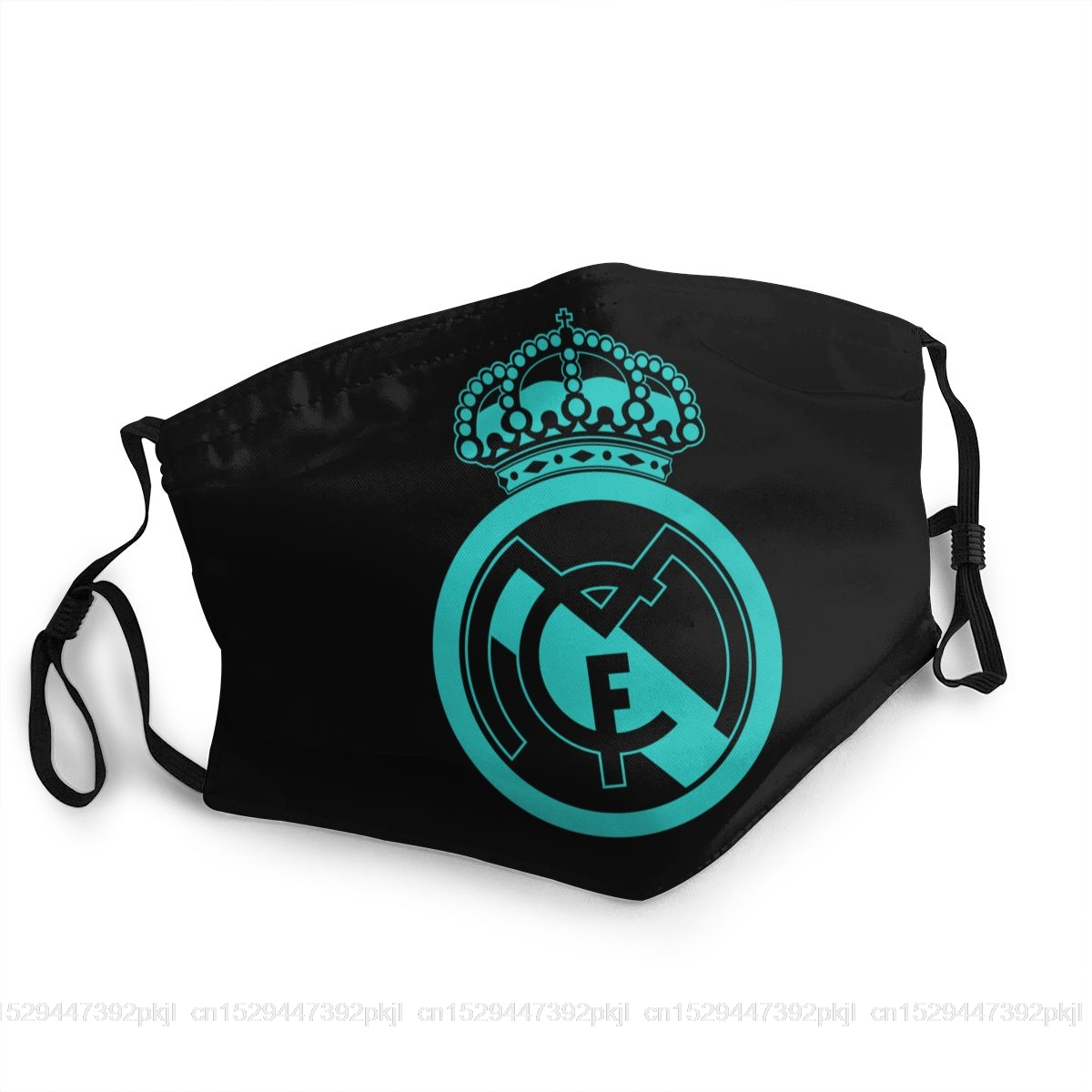 Classic Real Madrided Logo Mask Unisex Adult Dust Mask
