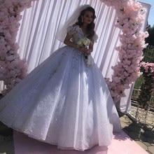 Vestido de 15 anos quinceanera vestidos seuqined renda applique doce 16 vestido fora do ombro pageant vestidos de festa trem varredura