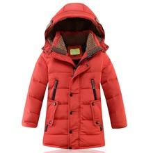 Girls Jackets Kids Boys Coat Children Winter Outerwear & Coats Casual  Girls Clothes Autumn Winter Parkas winter coats цена 2017